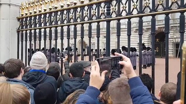 Royal Guards Play Bohemian Rhapsody At Buckingham Palace