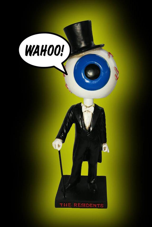 Residents - Classic Eyeball Limited Edition Bobblehead
