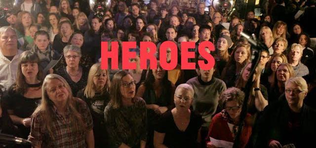 Choir! Choir! Choir! sings David Bowie - Heroes