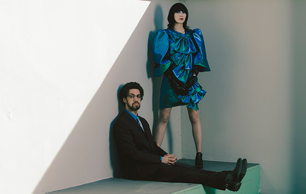 Karen O & Danger Mouse - Photo by Eliot Lee Hazel