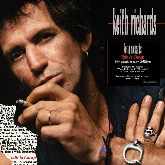 Keith Richards / Talk Is Cheap [30th anniversary]