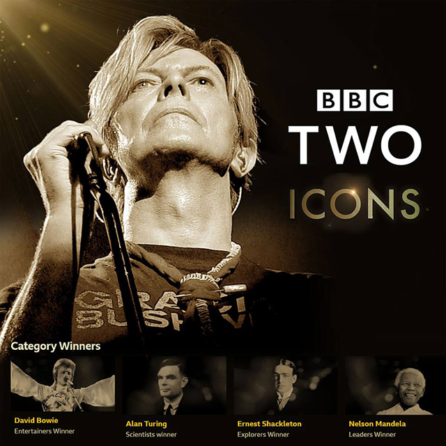 BBC TWO ICONS - David Bowie - Entertainers Winner