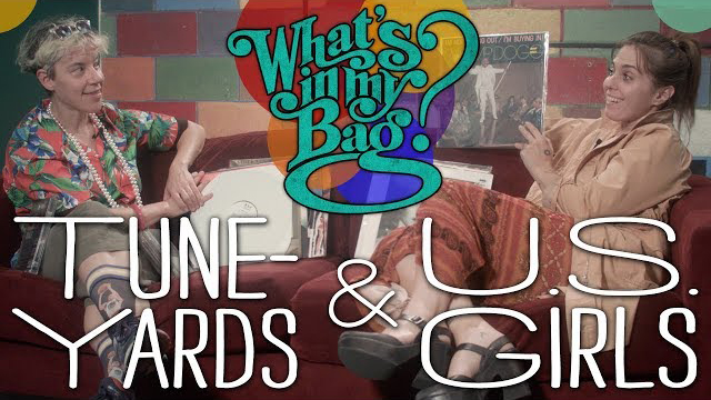 Tune-Yards and U.S. Girls - What's In My Bag? - Amoeba