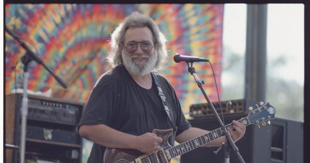 Jerry Garcia - Photo by Ken Friedman