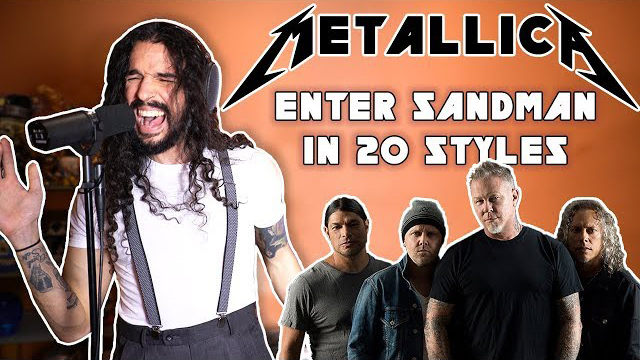 Enter Sandman in 20 Styles - Ten Second Songs