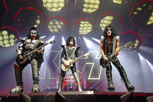 KISS - Photo by Jamie Taylor