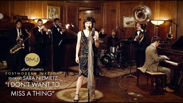 Postmodern Jukebox ft. Sara Niemietz / I Don't Want To Miss A Thing - Aerosmith (1920s Brass Band Cover)