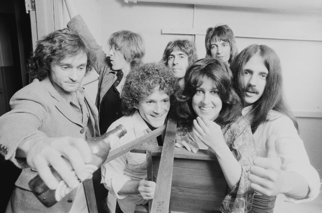 Jefferson Starship in September 1978 - Photo by Michael Putland/Getty Images