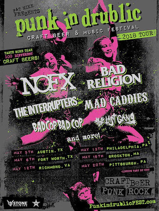 Punk In Drublic Craft Beer & Music Festival 2018