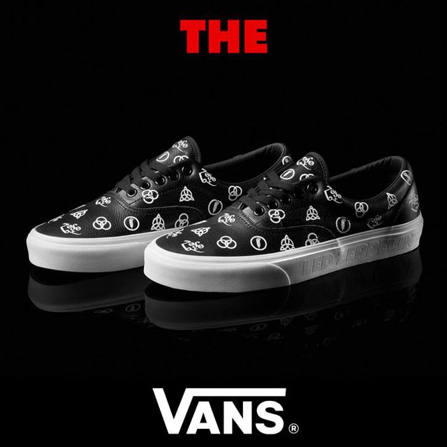Led Zeppelin × VANS New Shoe Line
