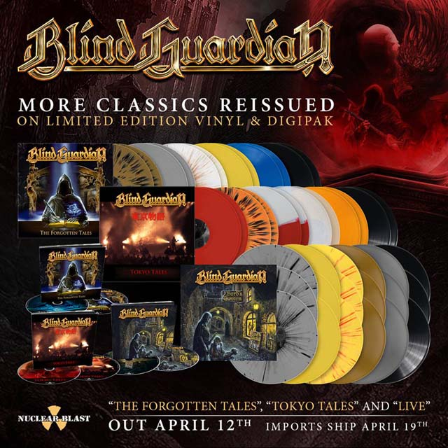 Blind Guardian / The Forgotten Tales, Tokyo Tales,  Live