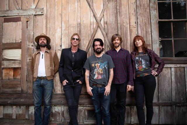 Duff McKagan's solo band - Photo Credit Jesse DeFlorio