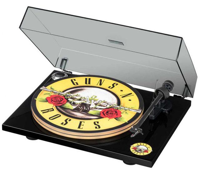 GUNS N' ROSES record player