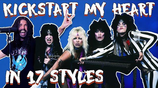 Ten Second Songs / Mötley Crüe - Kickstart My Heart in 17 Styles