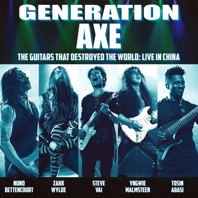 Steve Vai, Yngwie Malmsteen, Zakk Wylde, Nuno Bettencourt & Tosin Abasi / Generation Axe: The Guitars That Destroyed The World (Live in China)