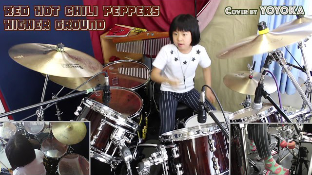 Red Hot Chili Peppers - Higher Ground / Cover by Yoyoka, 9 year old