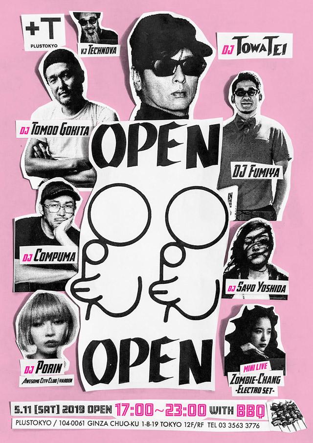 TOWA TEI Presents OPEN