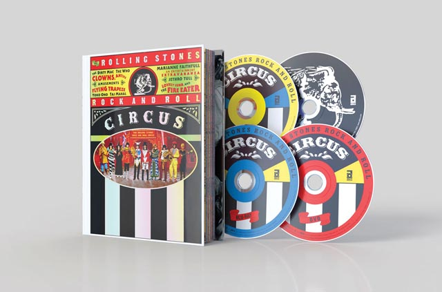 The Rolling Stones Rock and Roll Circus - Limited Deluxe Edition [Blu-ray+DVD+2CD]