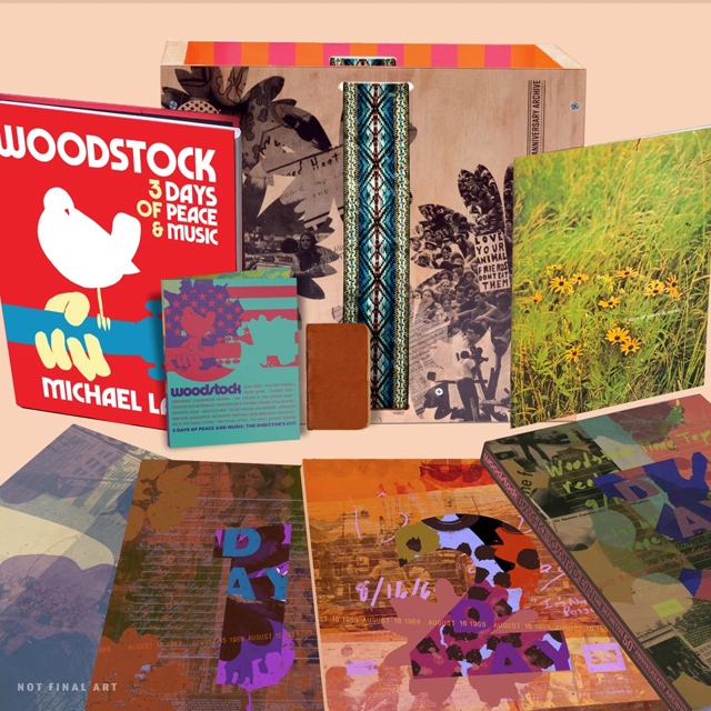 VA / Woodstock 50 - Back to the Garden - The Definitive 50th Anniversary Archive