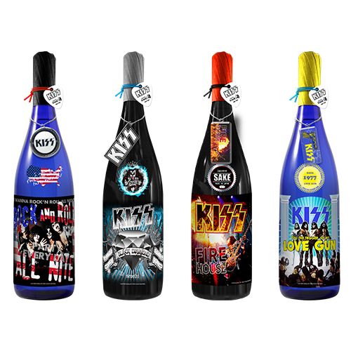 KISS「ROCK LEGENDS SAKE SERIES/ロックレジェンズ酒シリーズ」第2弾