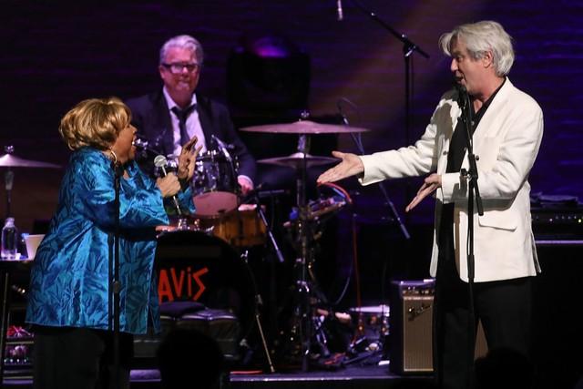 David Byrne & Mavis Staples - CREDIT: Taylor Hill/Getty Images