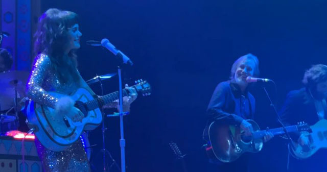 Jackson Browne and Jenny Lewis