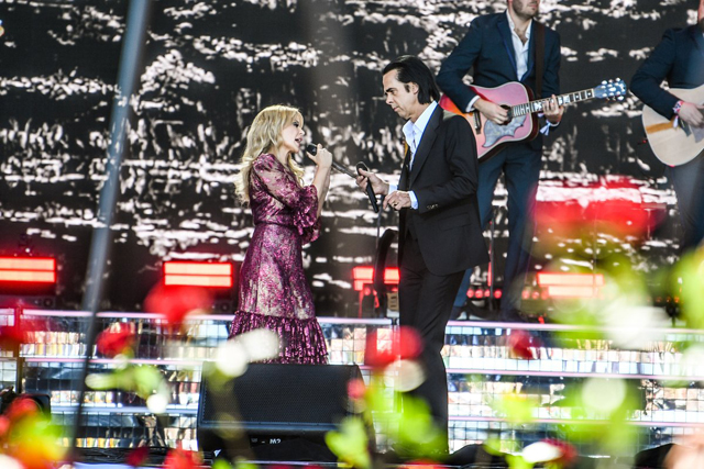 Kylie Minogue with Nick Cave