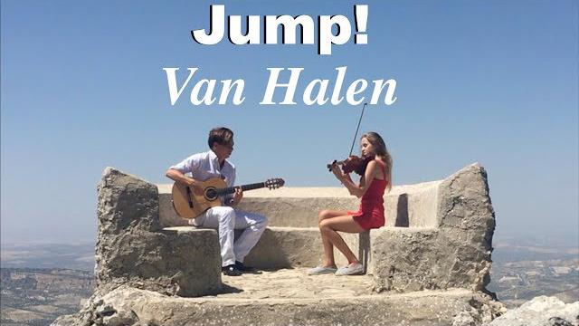 Jump (Van Halen) Acoustic - Fingerstyle Guitar & Violin - Thomas Zwijsen & Wiki Krawczyk