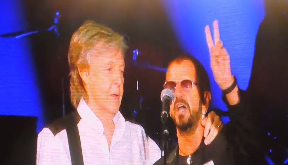 Paul McCartney Ringo Starr Dodger Stadium 2019