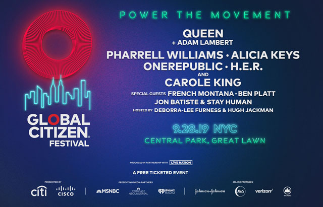 Global Citizen Festival 2019