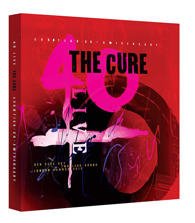 The Cure / 40 LIVE - CURÆTION-25 + ANNIVERSARY [2 Blu-ray/4 CD] [Deluxe Box Set]