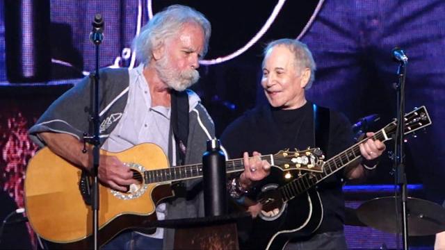 Paul Simon with Bob Weir