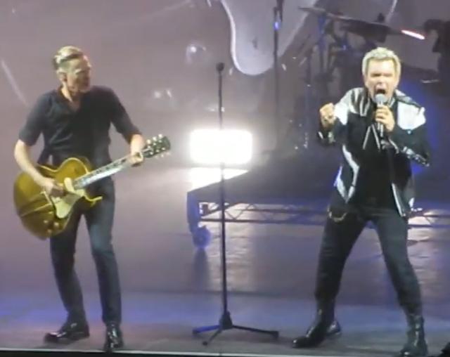 Bryan Adams & Billy Idol
