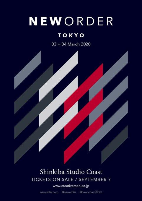 New Order - Japan tour 2020