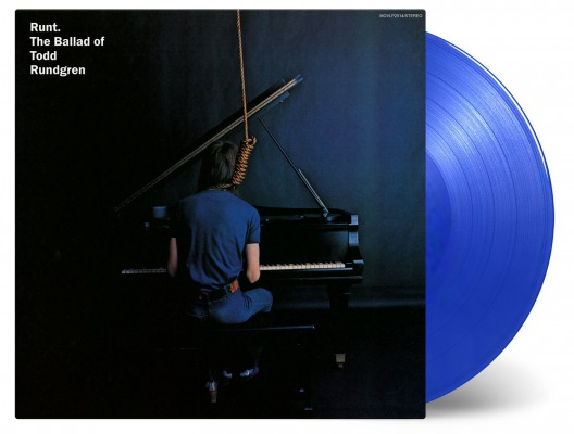 Todd Rundgren / Runt. The Ballad of Todd Rundgren [180g LP / transparent blue coloured vinyl]
