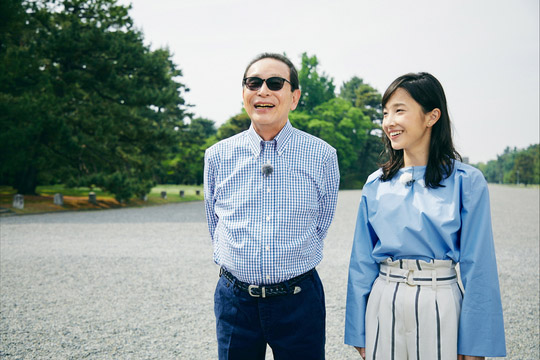 NHK『ブラタモリ「京都御所〜天皇の住まいはなぜこの場所だった?〜」』(c)NHK