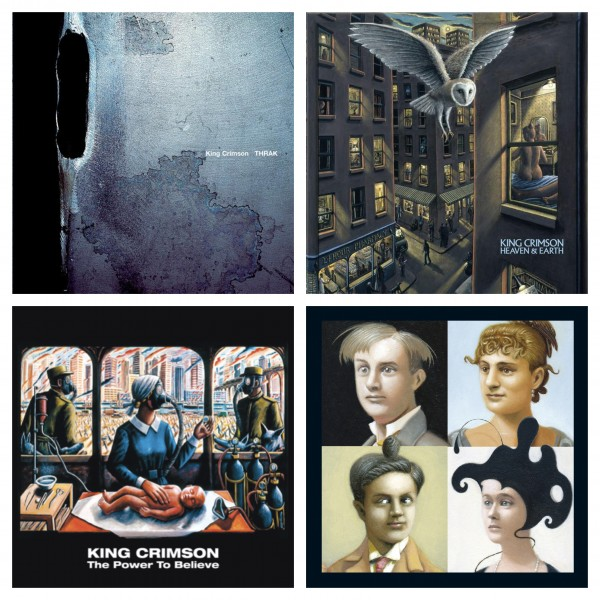 King Crimson / Audio Diary 2014-2018、THRAK、The ReconstruKction of Light、The Power to Believe