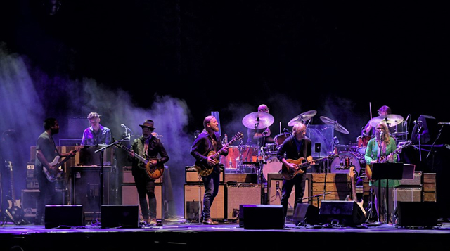 Tedeschi Trucks Band with Trey Anastasio and Doyle Bramhall II - Photo by Dave Vann