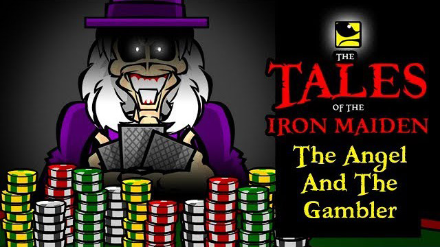 The Tales Of The Iron Maiden - THE ANGEL AND THE GAMBLER - MaidenCartoons Val Andrade