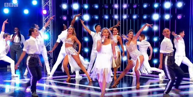 Kylie Minogue and the Strictly Pros' epic performance | Launch Show - BBC Strictly 2019