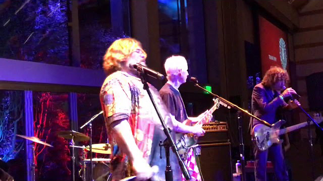 Jack Black with Robby Krieger & John Densmore (The Doors), plus Don Was on Bass, David Bowie's keyboardist Mike Garson, and others