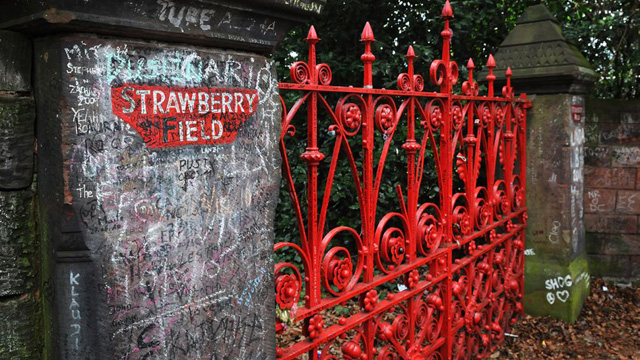 Strawberry Field in Woolton, Liverpool (Image credit: Jim Dyson - Getty)