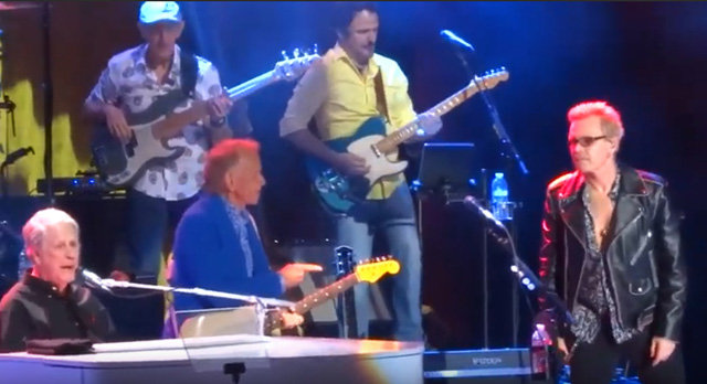 Brian Wilson Band with Billy Idol