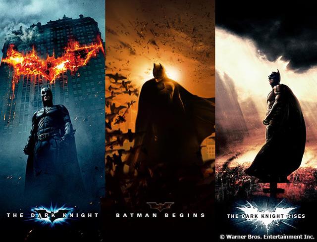 『バットマン ビギンズ』『ダークナイト』『ダークナイト ライジング』 (c) Warner Bros. Entertainment, Inc.