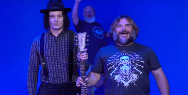Jack White and Jack Black