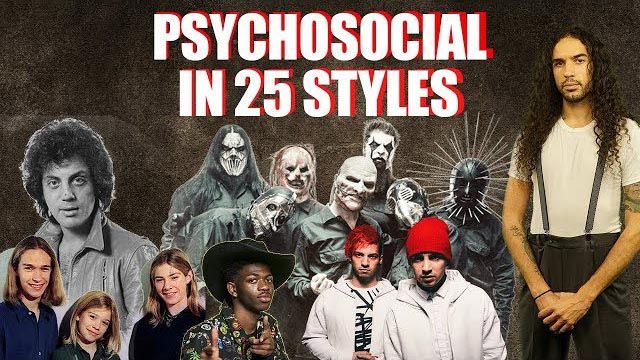 Slipknot - Psychosocial in 25 styles - Ten Second Songs