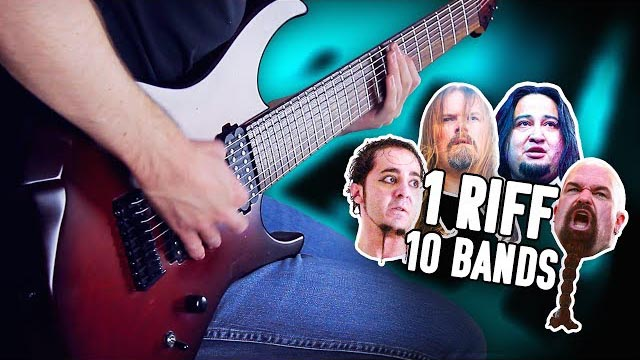1 Riff 10 Bands - Master Of Puppets! - Pete Cottrell