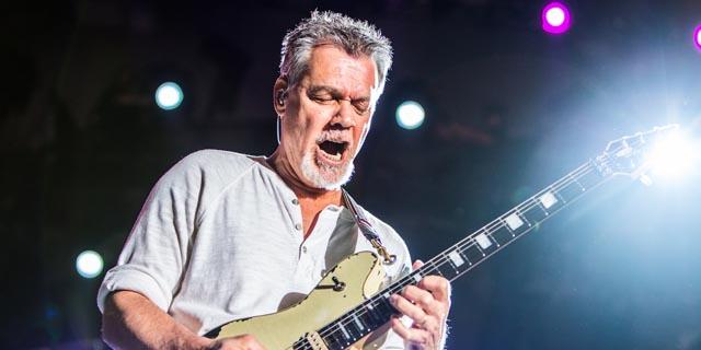 Eddie Van Halen, photo by Philip Cosores