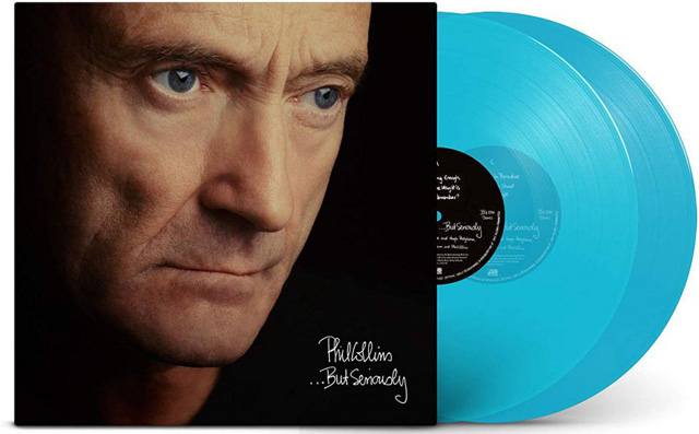 Phil Collins / ...But Seriously [2LP 180G TURQUOISE VINYL]