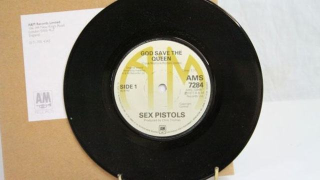 Sex Pistols / God Save The Queen [1977 A&M] - Photo by WESSEX AUCTION ROOMS